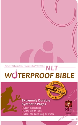 NLT Waterproof Bible New Test. Psalms & Prov. Pink Brown
