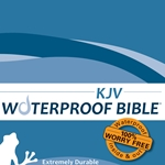 KJV Waterproof Bible Blue Wave