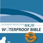 NKJV Waterproof Bible New Test. Psalms & Prov. Blue Wave