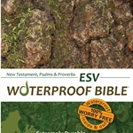 ESV Waterproof Bible New Test. Psalms & Prov. Camouflage