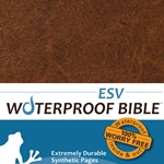 ESV Waterproof Bible Brown