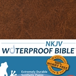 NKJV Waterproof Bible Brown