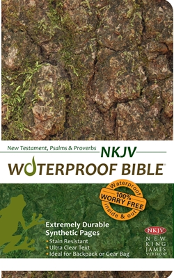 NKJV Waterproof Bible New Test. Psalms & Prov. Camouflage
