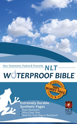 NLT Waterproof Bible New Test. Psalms & Prov. Blue Wave