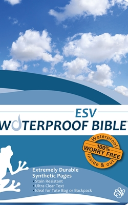ESV Waterproof Bible Blue Wave