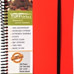 TUFFNotes waterproof spiral notebook - Orange Dot Grid