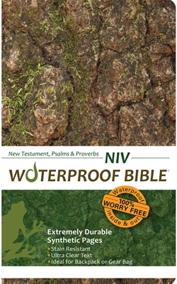 NIV Waterproof Bible New Test. Psalms & Prov. Camouflage