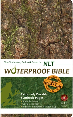 NLT Waterproof Bible New Test. Psalms & Prov. Camouflage